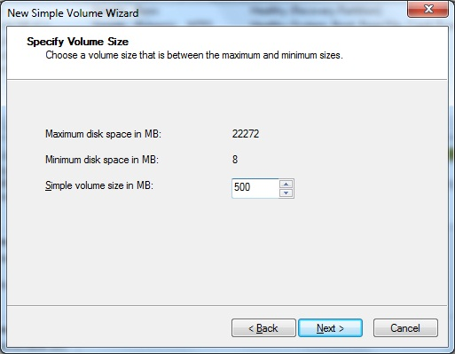 how to change simple volume to primary partition in win7
