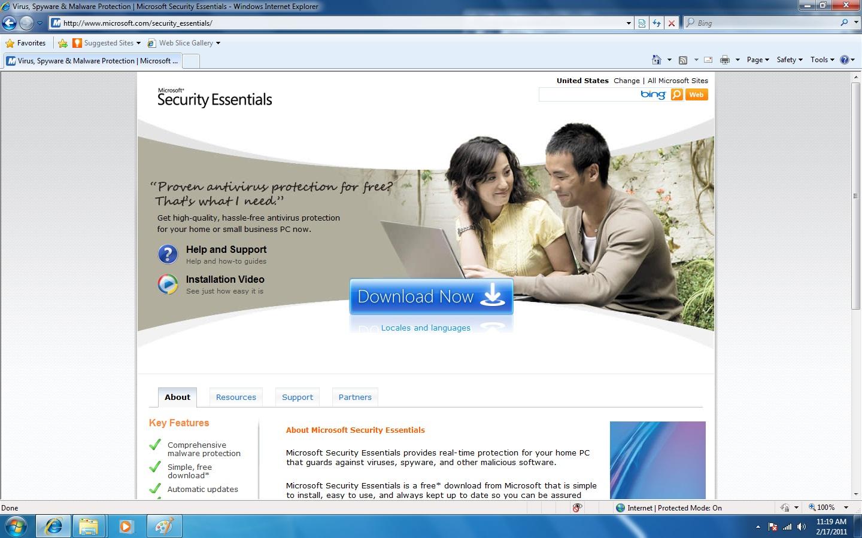 Roseglennorthdakota / Try These Security Essentials 32 Bit Windows 7