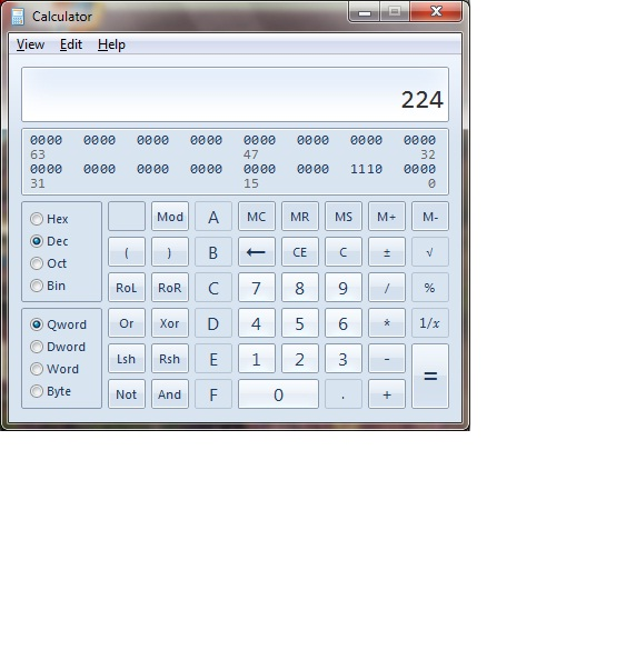 Decimal to binary calculator with steps